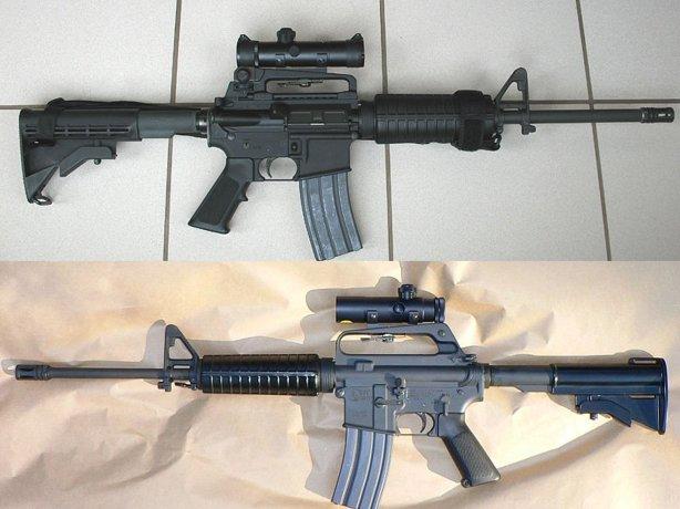 AR15-rifle