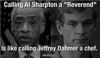 Sharpton Dahmer comparison